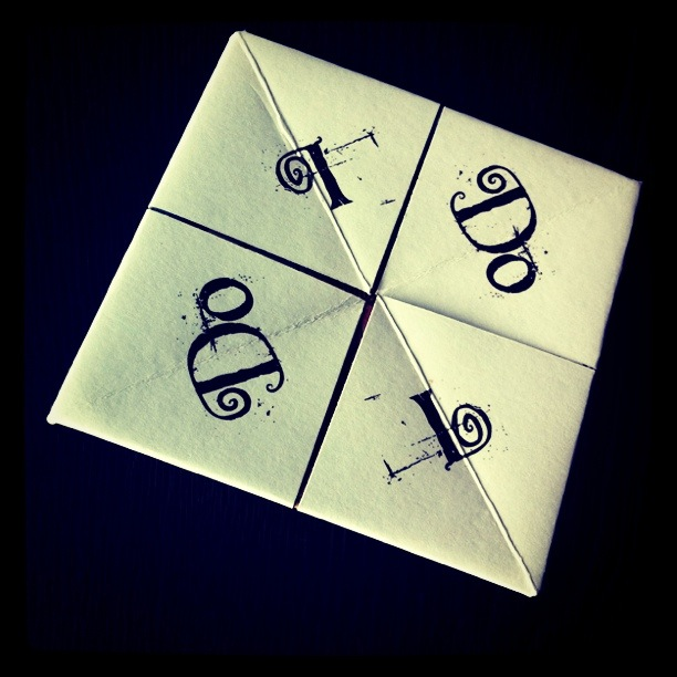 Fortune Teller Wedding Favour