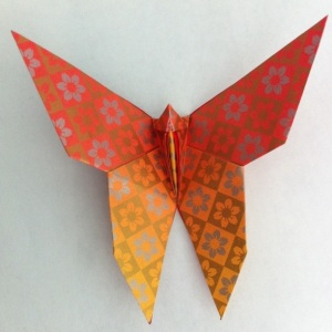origami butterfly 1